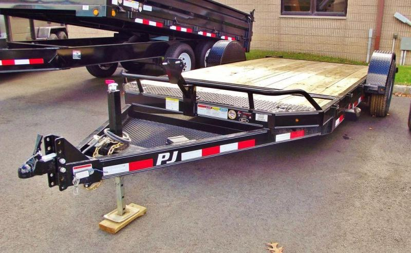 2018 PJ Trailers Single Axle HD Tilt (T1) 16'