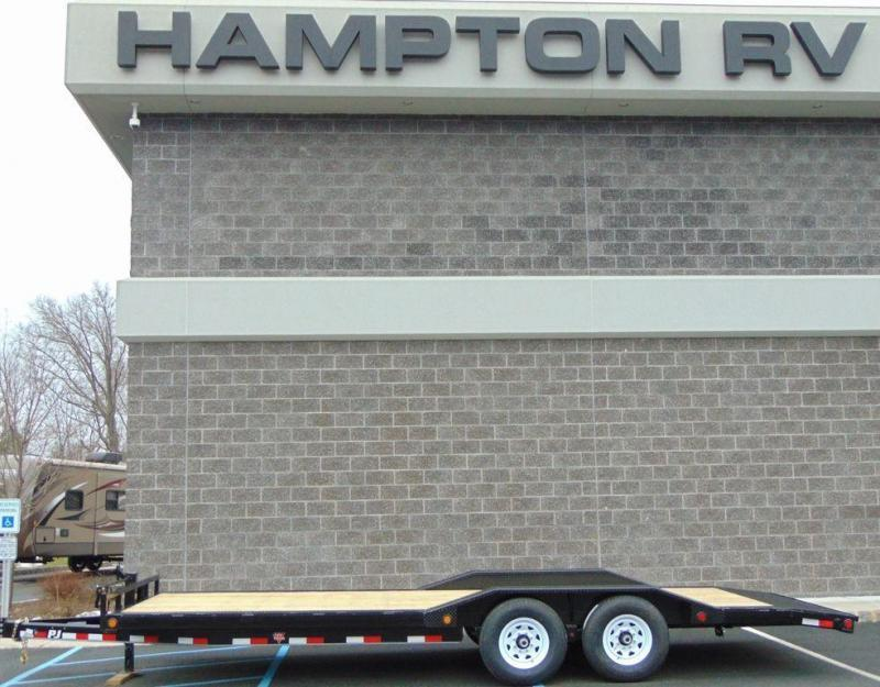 "2020 PJ Trailers 6"" Channel Super-Wide (B6) 20'"