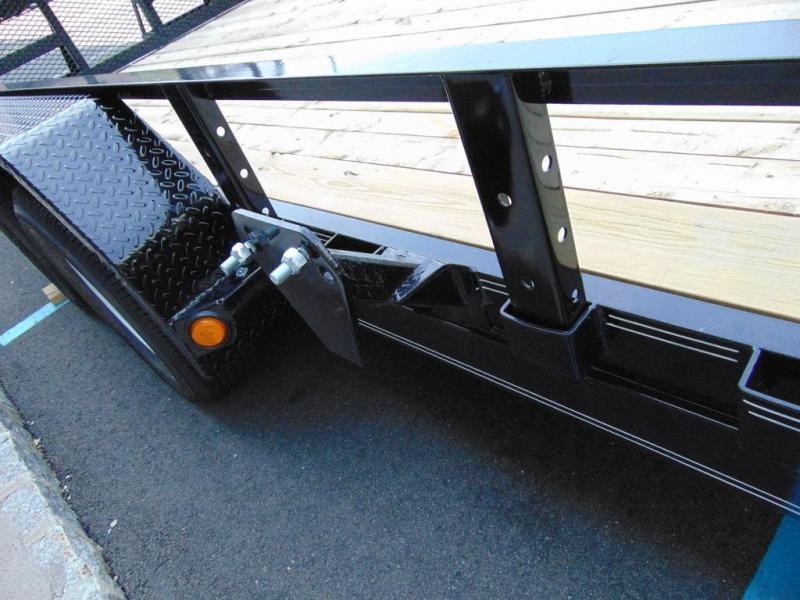 "2020 PJ Trailers 83"" Tandem Axle Channel Utility (UL) 14'"