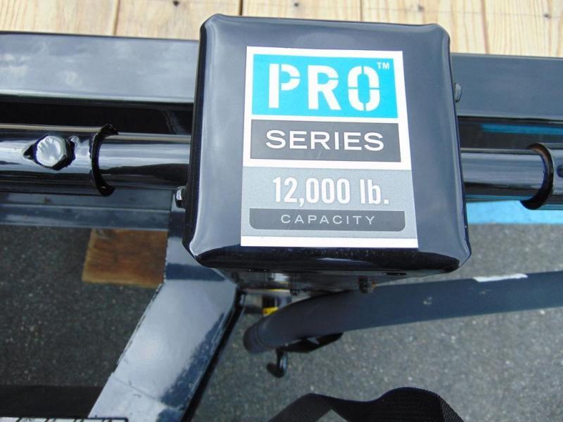 """2020 PJ Trailers 8"""" I-Beam Deckover (F8) 22' 14K GVWR"""