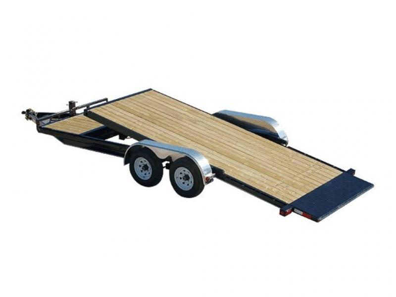 "2019 PJ Trailers 5"" Channel Tilt Carhauler (T5) 20'"