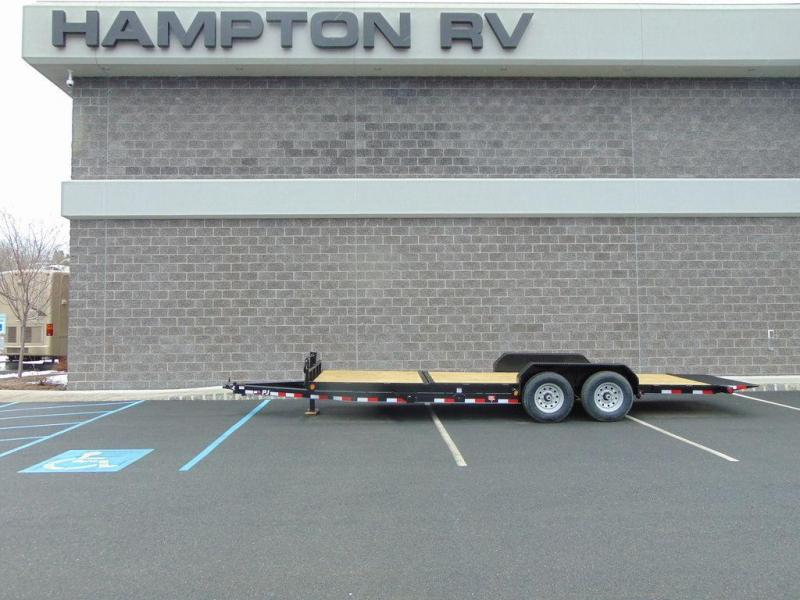"2018 PJ Trailers 6"" Channel Equipment Tilt (T6) 22' 14K GVWR"