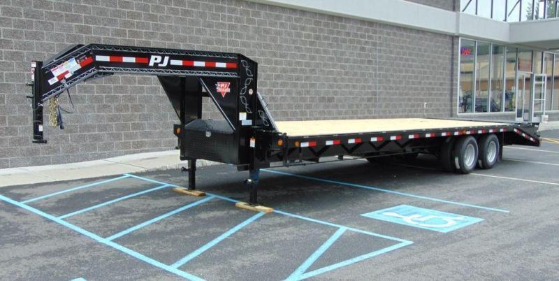 2019 PJ TrailerS Classic Flatdeck with Duals (FD) 32'