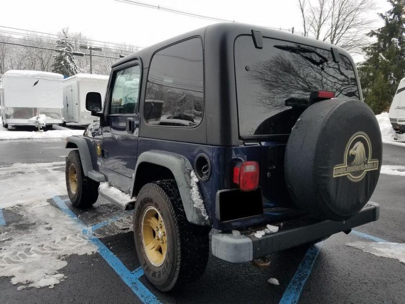 2006 Jeep Wrangler TJ Golden Eagle Edition