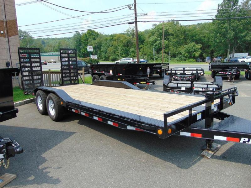 "2019 PJ Trailers 6"" Channel Super-Wide (B6) 22'"