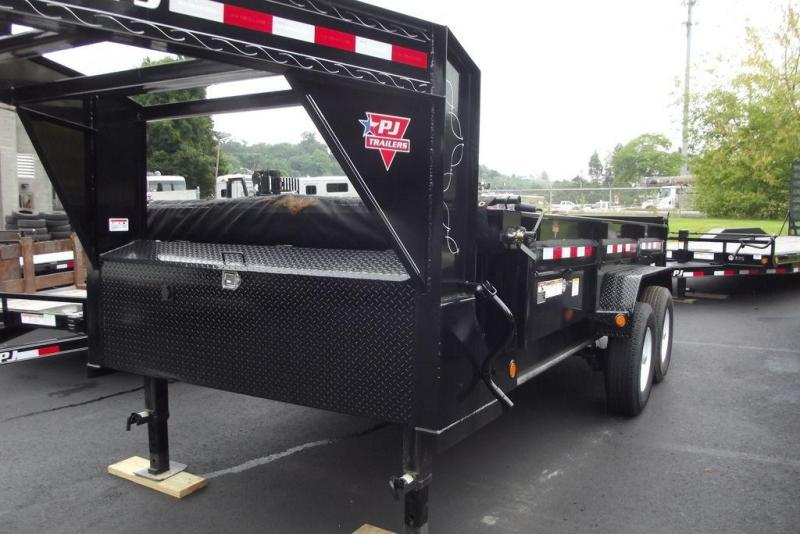 "2020 PJ Trailers 83"" Low Pro Dump (DL) 14'"