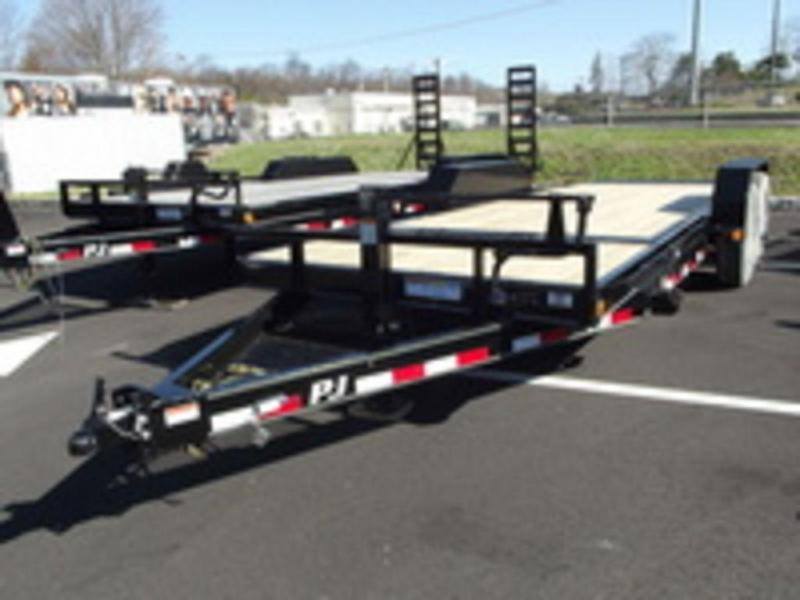 "2018 PJ Trailers 6"" Channel Equipment Tilt (T6) 18'"