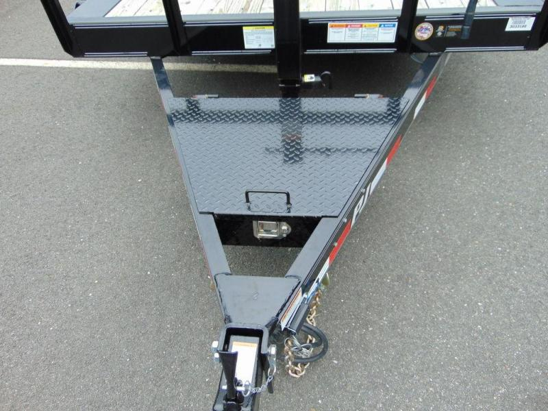 "2019 PJ Trailers HD Equipment Tilt 6"" Channel (TJ) 22'"