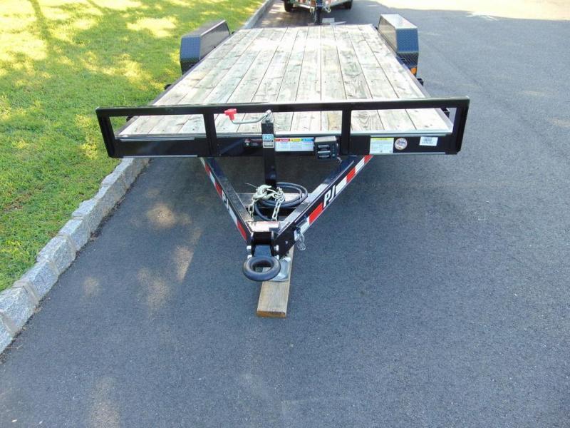 "2018 PJ Trailers 5"" Channel Equipment (CE) 18' - 9899 lb Gross Trailer Weight"
