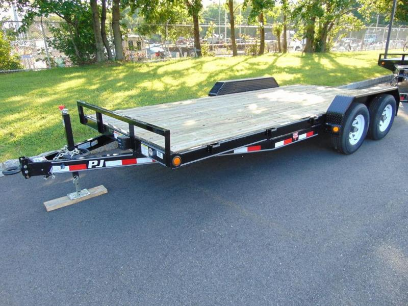 "2018 PJ Trailers 5"" Channel Equipment (CE) 18' - 9899 lb Gross Trailer Weight"