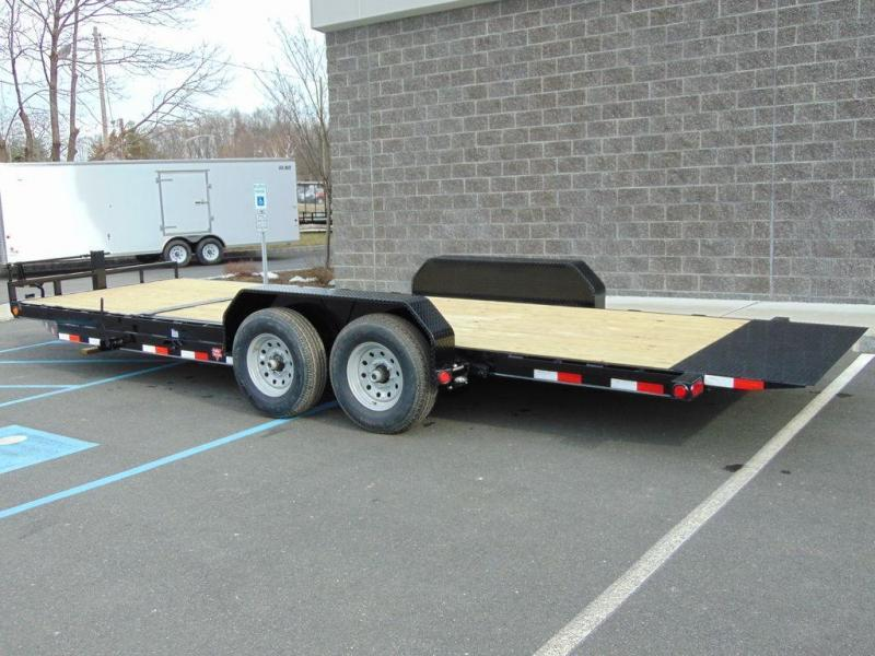 "2018 PJ Trailers 6"" Channel Equipment Tilt (T6) 20' 14K GVWR"