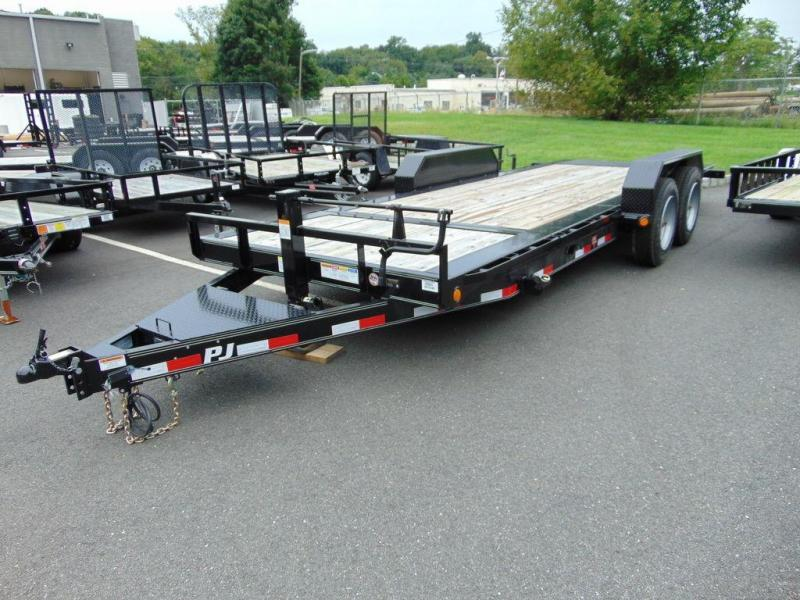 "2019 PJ Trailers HD Equipment Tilt 6"" Channel (TJ) 20'"