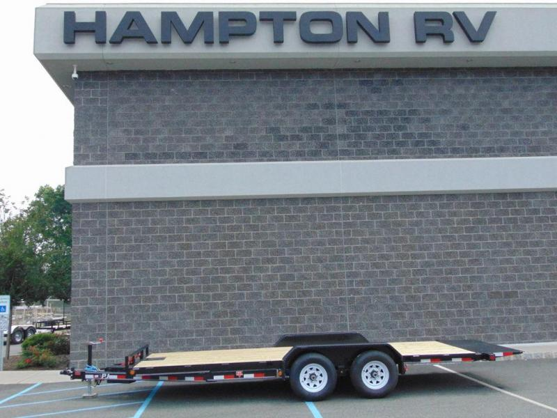 "2020 PJ Trailers 83"" Hydraulic Quick Tilt (TH) 18'"