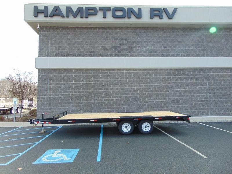 "2020 PJ Trailers Med. Duty Deckover 6"" Channel (L6) 20'"