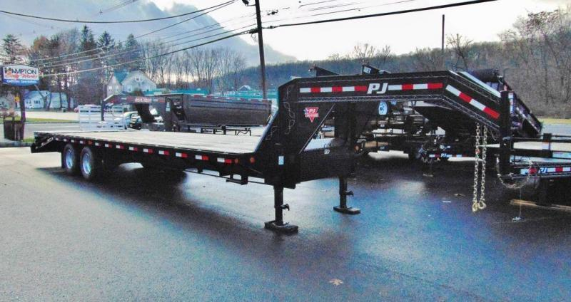 2020 PJ Trailers Classic Flatdeck With Duals (FD) 30'