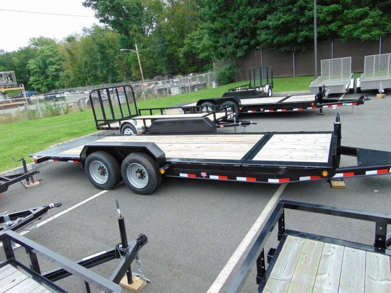 "2020 PJ Trailers HD Equipment Tilt 6"" Channel (TJ) 20'"