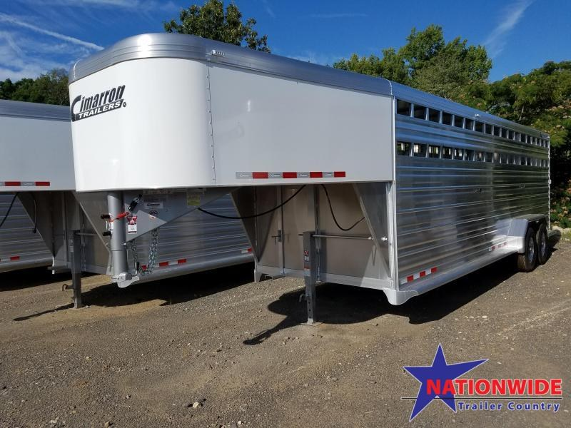 **STOCKMAS CLEARANCE**  2020 Cimarron Trailers 20FT 24FT 28FT Livestock Trailer