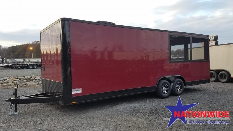 2020 Spartan Cargo 8.5X24 TA Vending / Concession Trailer
