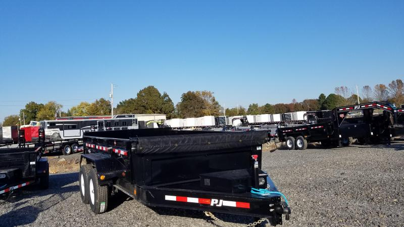 2020 PJ Trailers 83X12 TA Dump Trailer