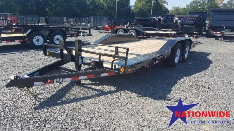 2020 PJ Trailers 102X20 TA Car / Racing Trailer