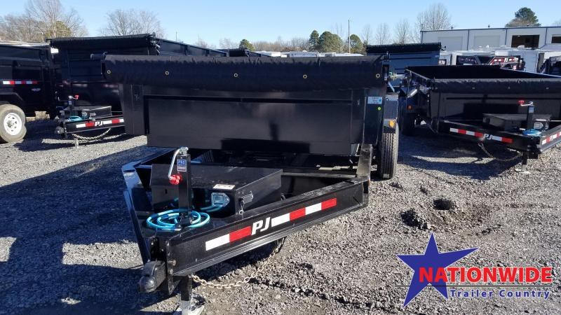 2020 PJ Trailers 83X16 TA LOW PRO Dump Trailer