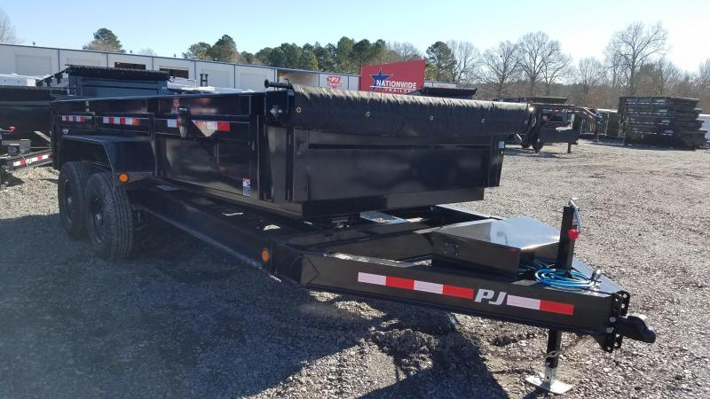 2020 PJ Trailers 83X16 TA LOW PRO Dump Trailer