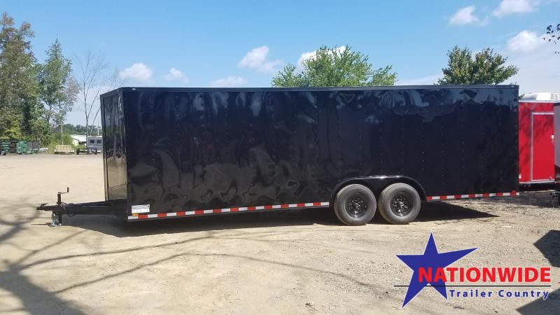 2020 Spartan 8.5X24 Enclosed Cargo Trailer
