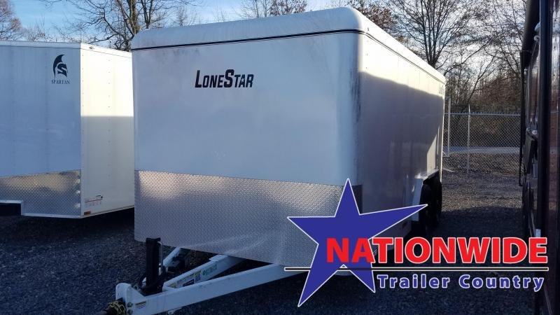 2020 Lonestar 16FT STEEL Enclosed Cargo Trailer