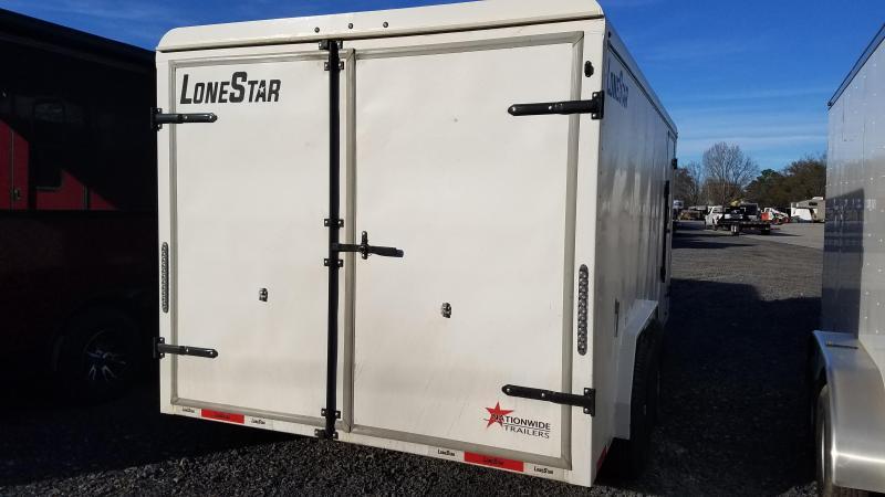 2020 Lonestar 16FT STEEL Enclosed Cargo Trailer