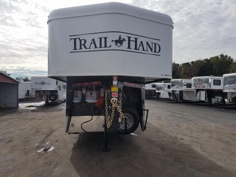 2019 Bison LIVING QUARTERS 7409 TRAIL HAND Horse Trailer