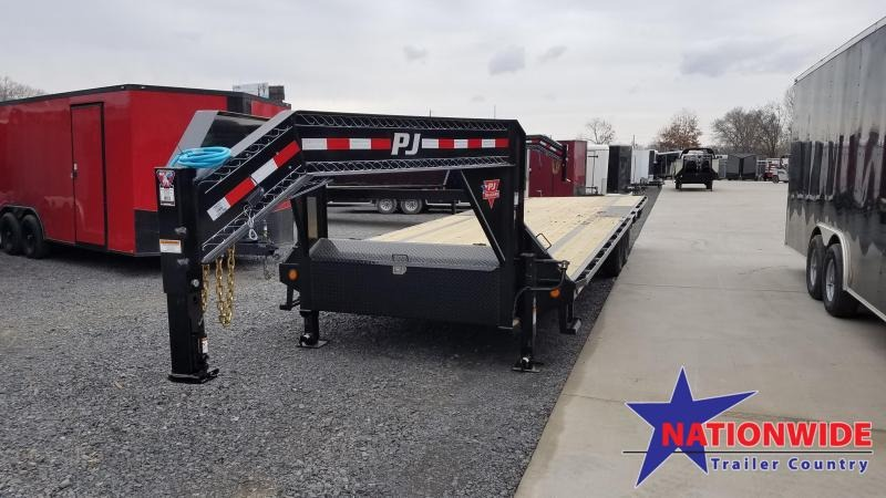 2020 PJ Trailers 102X28 LOW-PRO Flatbed Trailer