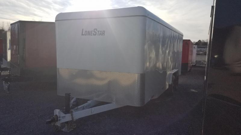 2020 Lonestar 7.10X20 TA Enclosed Cargo Trailer