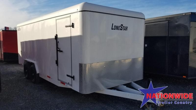 2020 Lonestar 7.10X20 TA Enclosed Cargo Trailer