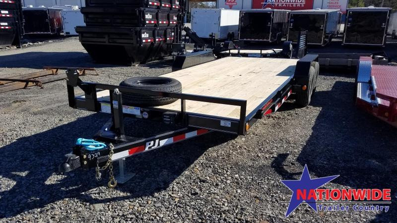 2020 PJ Trailers 83X20 TA Car / Racing Trailer