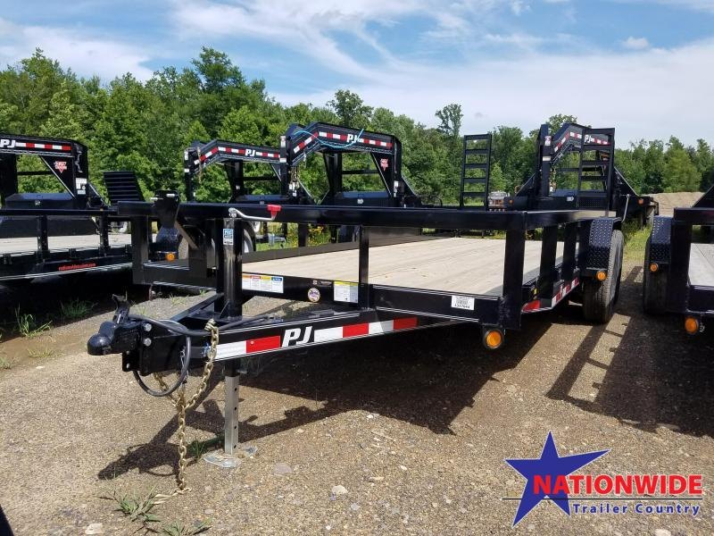 2020 PJ Trailers 20FT ANGLE PIPETOP Equipment Trailer