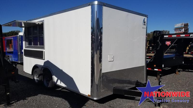 2020 Spartan Cargo 8.5X16 TA Vending / Concession Trailer