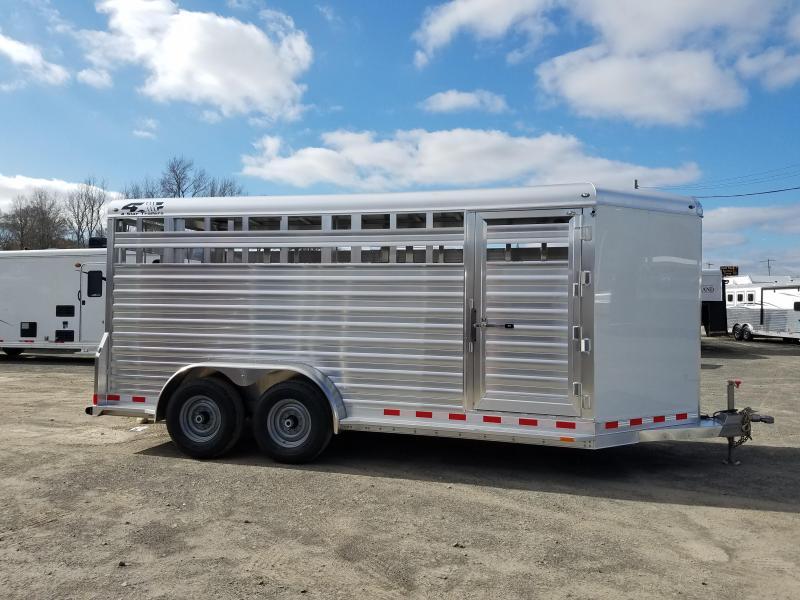 2019 4-Star Trailers ALUMINUM Livestock Trailer