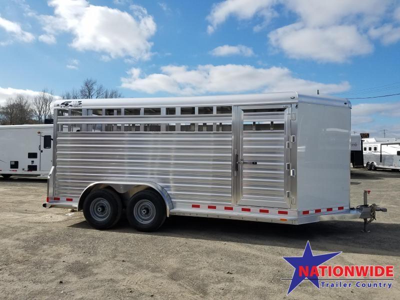 ***PRICE REDUCTION***2019 4-Star Trailers ALUMINUM Livestock Trailer