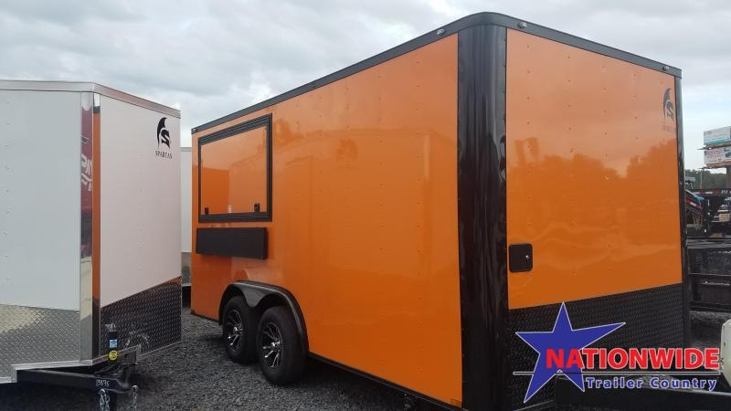 2020 Spartan 8x16 TA Vending / Concession Trailer