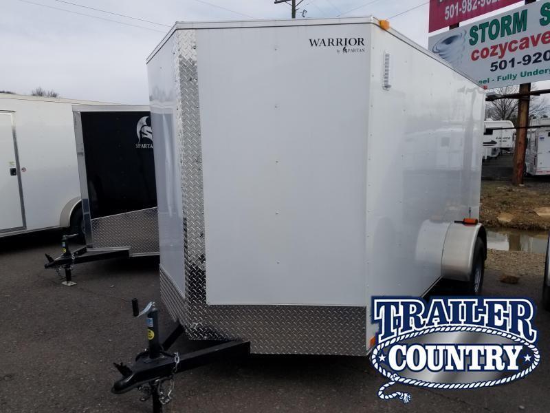 2019 Spartan 6X12 SA Enclosed Cargo Trailer | 7x12 Trailers