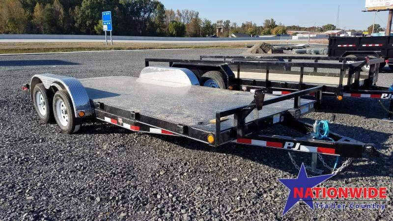 2020 PJ Trailers 83X18 TA Car / Racing Trailer