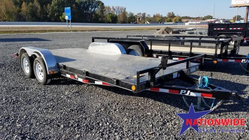 2020 PJ Trailers 83X18 TA Car / Racing Trailer