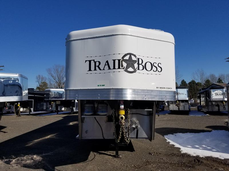 ***PRICE REDUCTION***2018 BISON 7011 STOCK/COMBO Trailer with Living Quarters