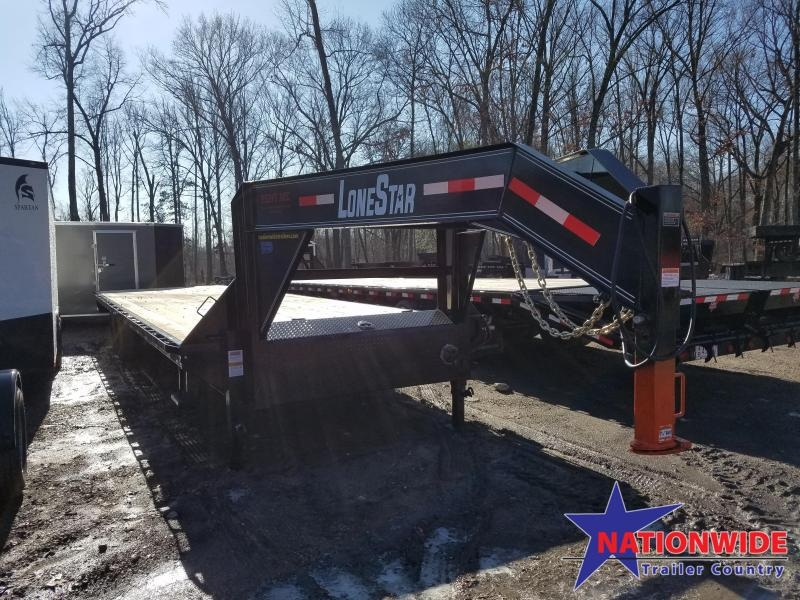 2019 Lonestar 32X 102 I-BEAM Flatbed Trailer