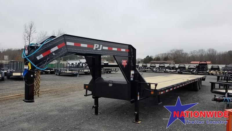 2020 PJ Trailers 40FT LOW PRO Flatbed Trailer