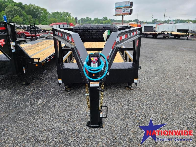 2021 PJ Trailers 83X24 ANGLE PIPETOP Equipment Trailer
