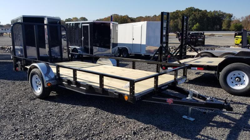 2020 PJ Trailers 72X14 SA Utility Trailer