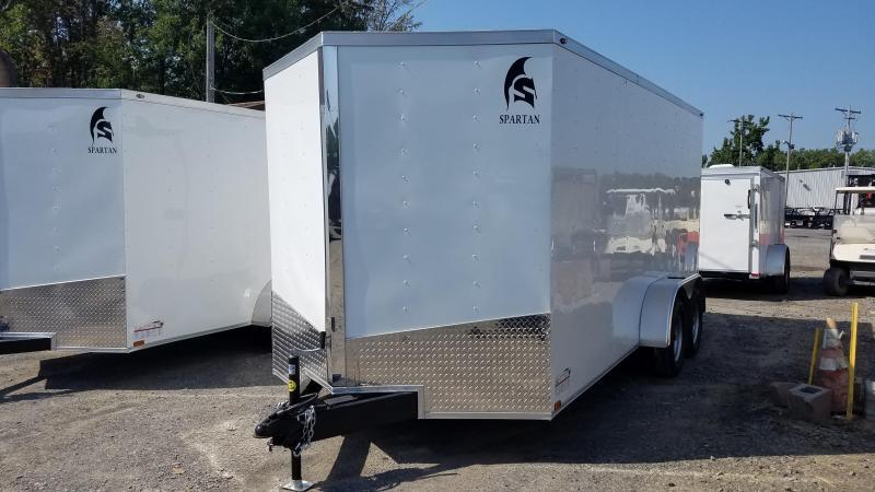 ***PRICE REDUCTION***020 Spartan 7X16 TA Enclosed Cargo Trailer