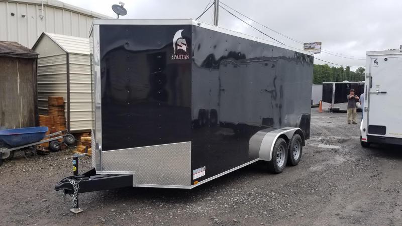 ***PRICE REDUCTION***2020 Spartan 7X16 TA Enclosed Cargo Trailer