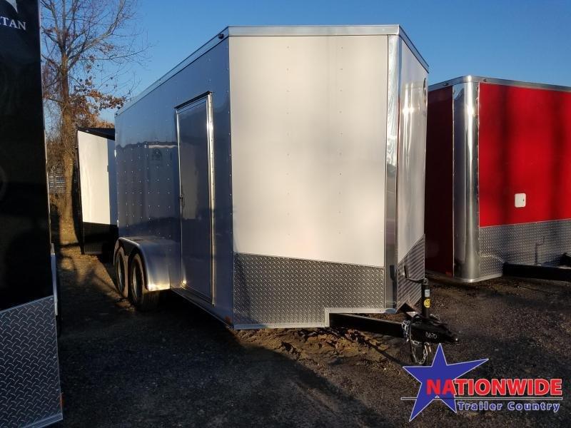 2019 Spartan 7X14 Enclosed Cargo Trailer